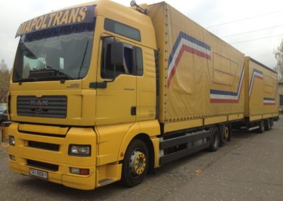Machines for transportation of goods company DIAPOLTRANS